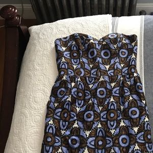 Milly patterned size 6 dress